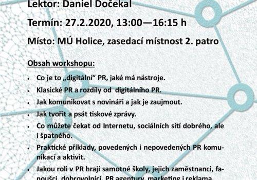 Pozvánka na seminář Prezentace škol v klasických a digitálních médiích